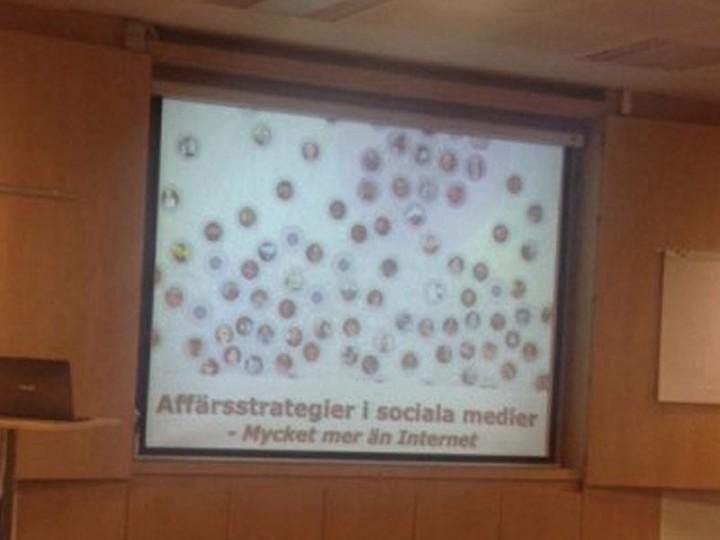 Affärsstrategier i sociala medier