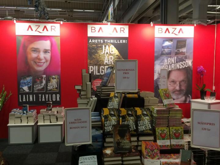 Bokmässan 2015 för Bazar Förlag