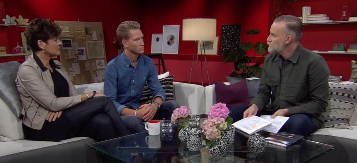 Fin och viktig intervju i Gokväll med Charlie och Ullakarin