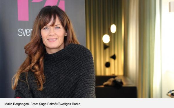 Malin Berghagen dagens gäst i P4 Extra