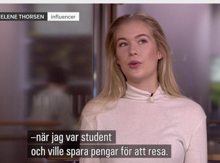 Effektivt pressbesök med Karen Elene Thorsen