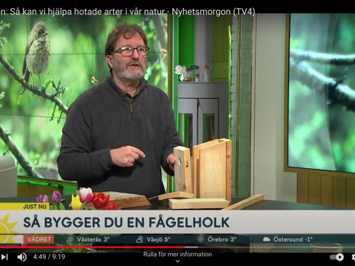 Fantastiska Ola Jennersten i Nyhetsmorgon om vår biologiska mångfald